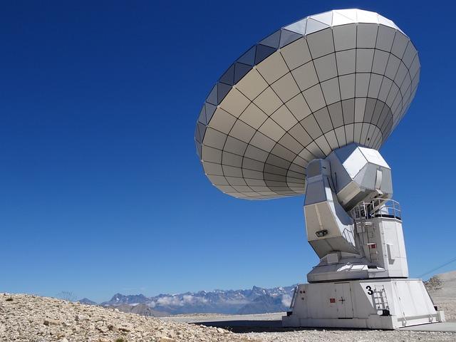 Radio Telescope, Astronomy, Bure Peak, Antenna, Noema