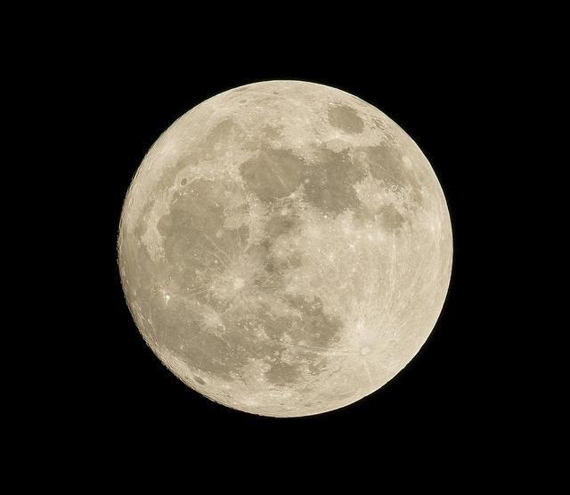 Astronomy, Full Moon, Luna, Moon