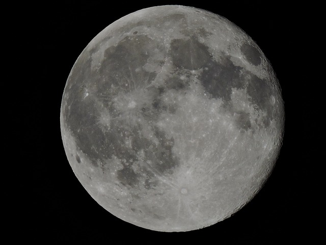 Full Moon, Outer Space, Moonlight, Moon, Astronomy
