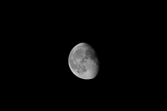 The Night Sky, Moon, Night, Sky, Astronomy, Space