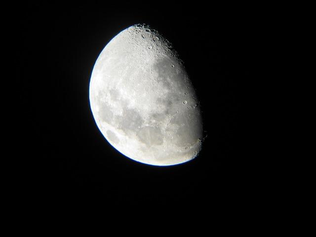 Moon, Astronomy, Telescope, Night Sky, Craters