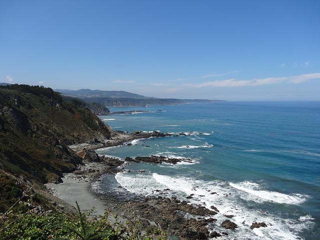 Beach, Asturias, Tourism