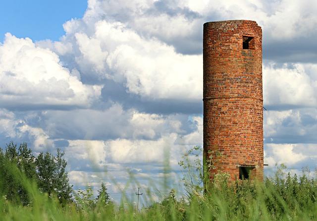 Tower, Fortress, Brick, Asylum, Watchman, Security