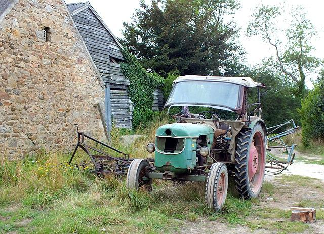 Agro-industry, Outdoor, At The Age Of, Abandoned