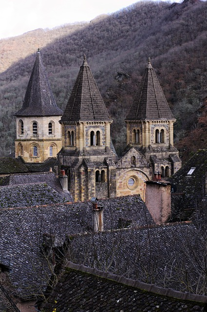 Architecture, At The Age Of, Travel, Religion, Conques