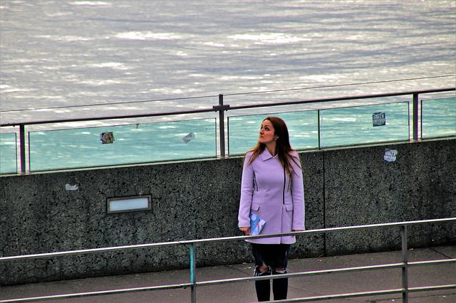 At The Court Of, People, Girl, Spacer, Jacket, Bridge