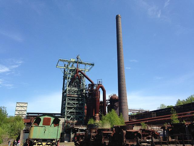 Industrial Heritage In Hattingen Germany, At The Ruhr