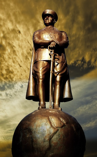Atatürk, Sculpture, Statue, Shiny, Metal, Leader