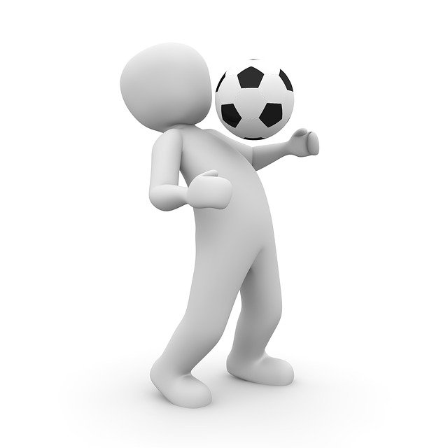 Football, Athlete, 3d, Sport, Movement, Ball