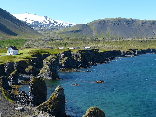 Iceland, Coast, Atlantic, Sea, Cliff, Ocean, Nature