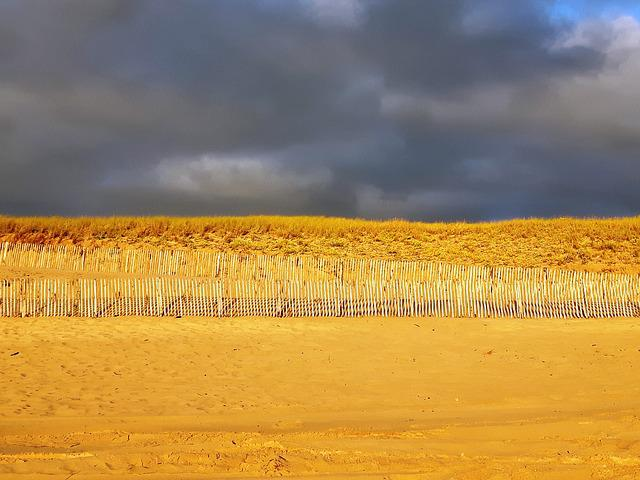 Dune, Beach, Sand, Atlantic Coast, After The Rain