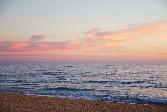 Faro, Portugal, Algarve, Wave, Atlantic, Sea, Nature