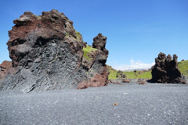 Iceland, Landscape, Nature, Water, Sea, Atlantic, Rock