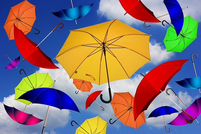 Umbrella, Color, Atmosphere, Mood, Attitude To Life