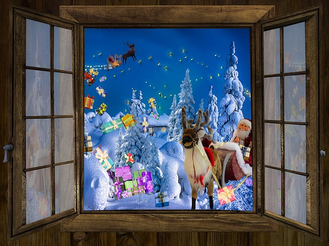 Winter, Christmas Time, Atmosphere, Christmas, Window