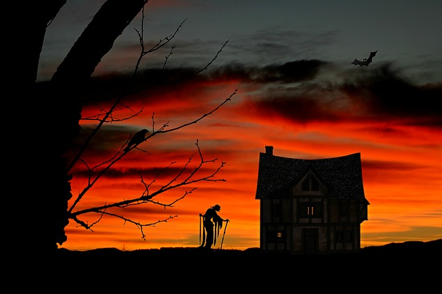 The Witch, Witch's House, Halloween, Weird, Atmosphere