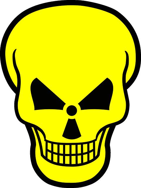 Radioactive, Atomar, Kill, Radioactivity, Warning