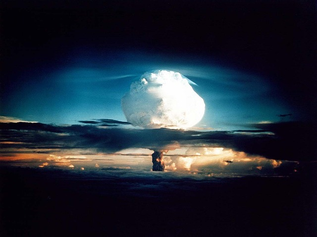 Hydrogen Bomb, Atomic Bomb, Nuclear Explosion