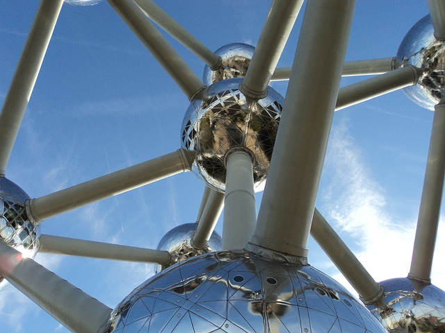Air, Atomium, Atomic, Brussels