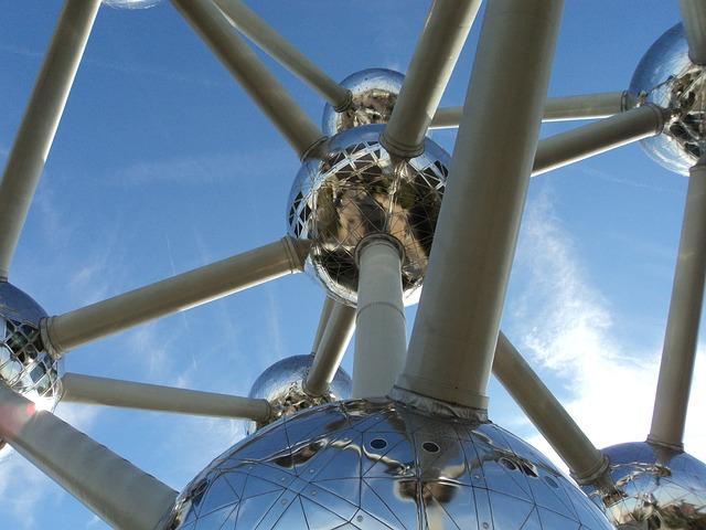 Air, Atomium, Atomic, Brussels