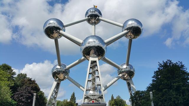 Belgium, Brussels, Atomium