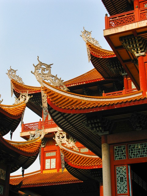 China, Fuzhou, This Temple, Basilica, Attic, Monastery
