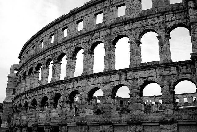 The Coliseum, Monument, Attraction, Tourist, Tour, Pula