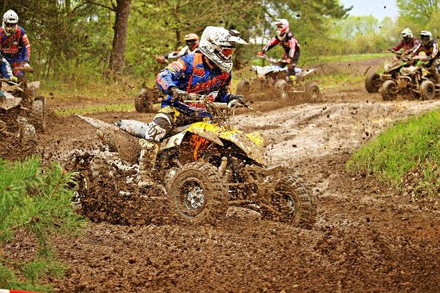 Enduro, Quad, Atv, Mud, Race, Cross, Motorcycle