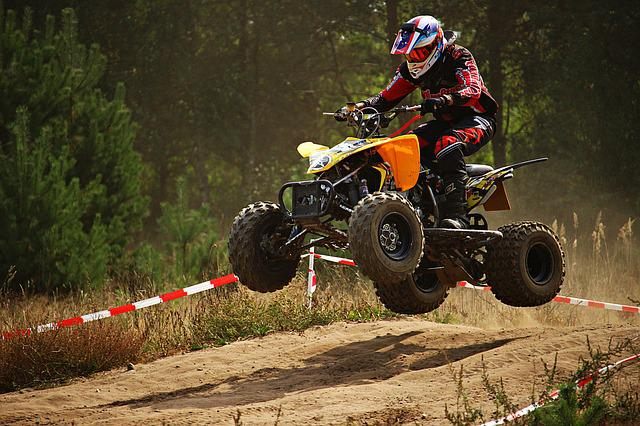 Atv, Quad, Jump, Cross, Enduro, Motocross