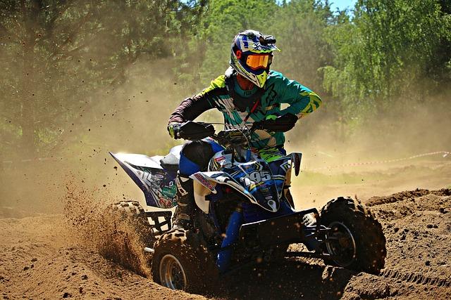 Motocross, Quad, Atv, Quad Race, Enduro, Motocross Ride