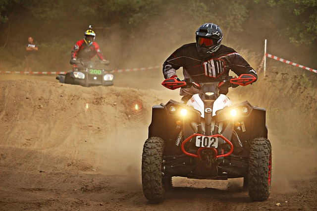 Cross, Motocross, Quad, Atv, Motorcycle, Sand, Race