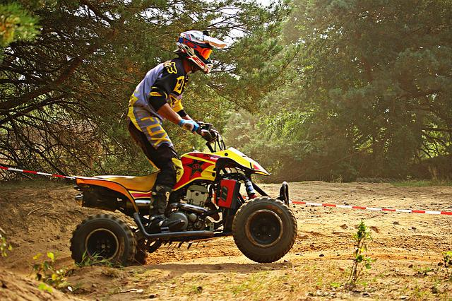 Cross, Motocross, Atv, Quad, Race, Motorcycle