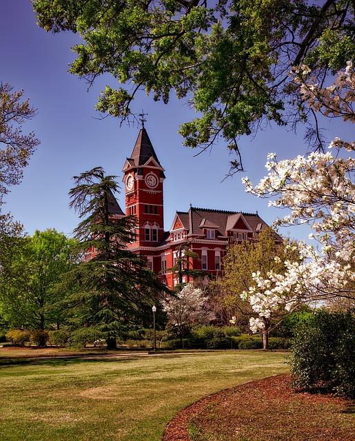 Samford Hall, Auburn University, Education, Schools