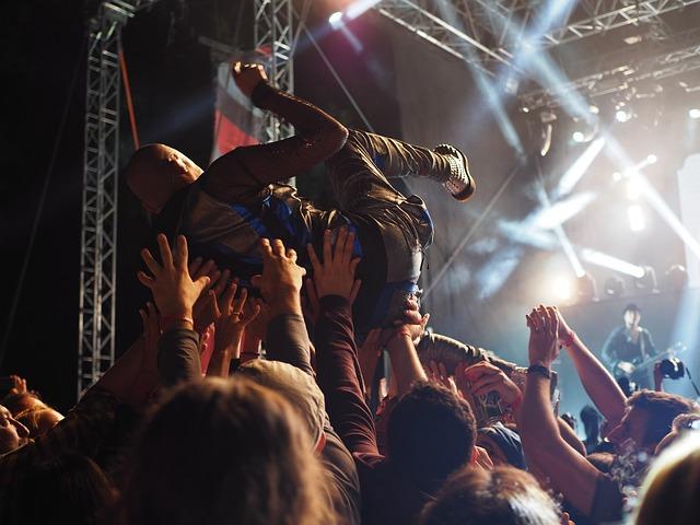 Adult, Artists, Audience, Band, Celebration, Concert