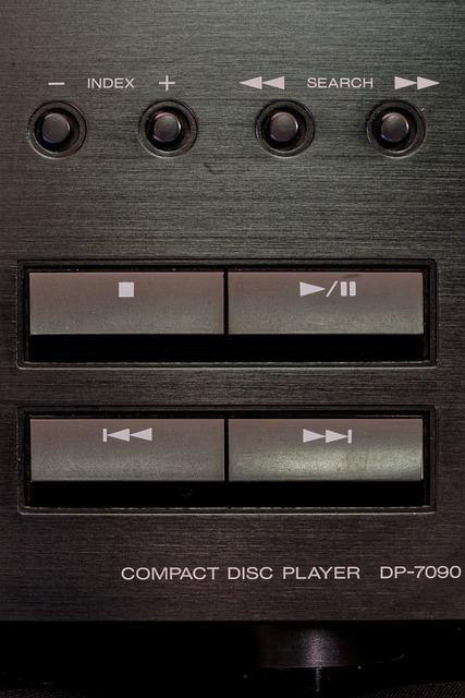 Cd Player, Music System, Audio, Music, Hifi, Kenwood
