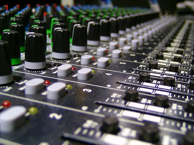 Audio, Recording, Sound Studio, Mixer, Controller