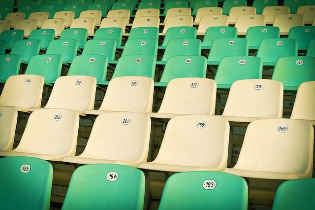 Stadium, Sit, Auditorium, Grandstand, Chairs