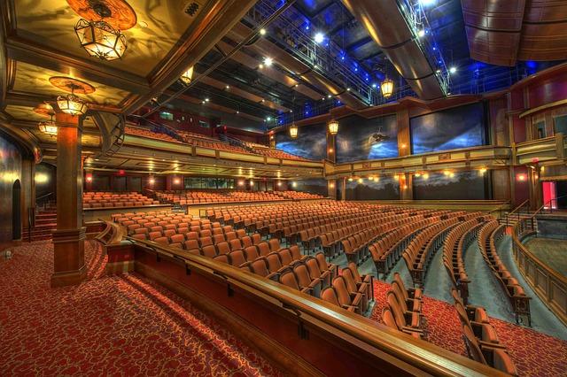 Auditorium, Theater, Architecture, Interior, Chairs
