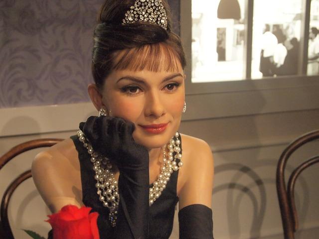 Audrey Hepburn, British Actress, Wax Museum