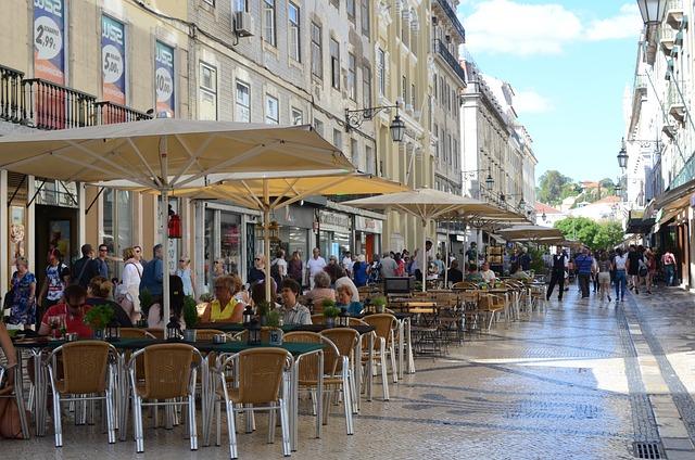 Augusta Street, Lisbon, Portugal, Trip, Tourism, Travel