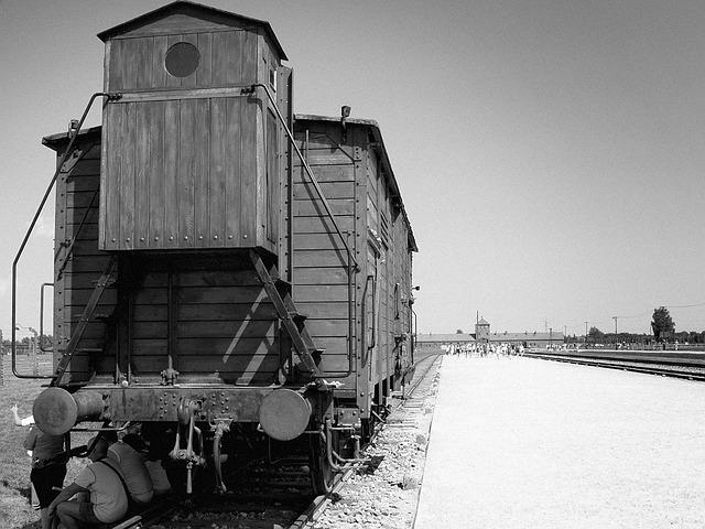 Auschvitz - Birkenau, Train, Concentration Camp