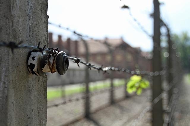 Auschwitz, Poland, War, Camp, Fence