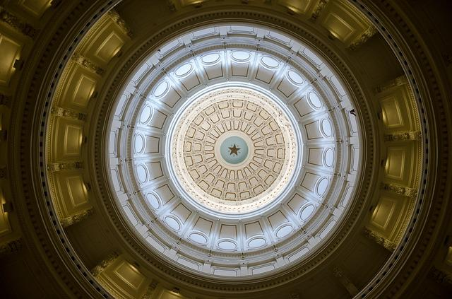 Austin, Texas, Usa, Capitol, America