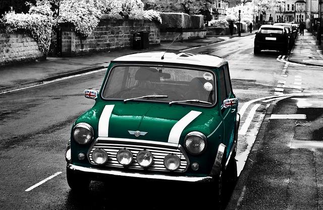 British Racing Green, Rover, Austin, Mini, Cooper