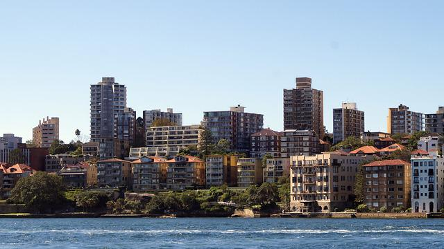 Sydney, Buildings, Harbor, Australia, Architecture