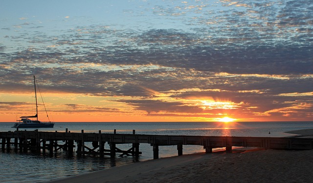 Sunrise, Monkey Mia, Australia, West Australia