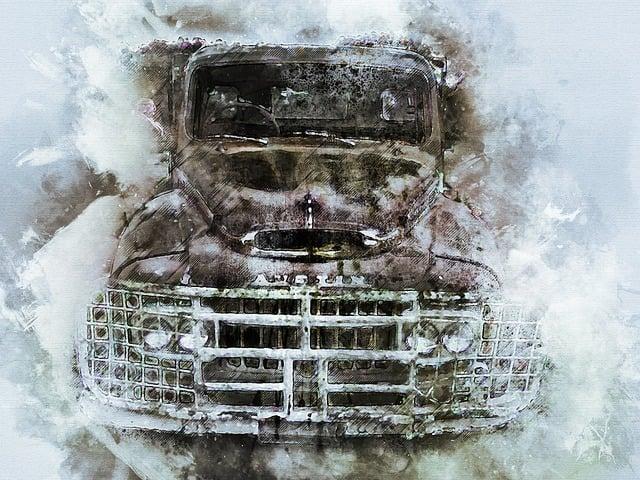 Austin Truck, Truck, Pickup, Australia, Hdr, Nature