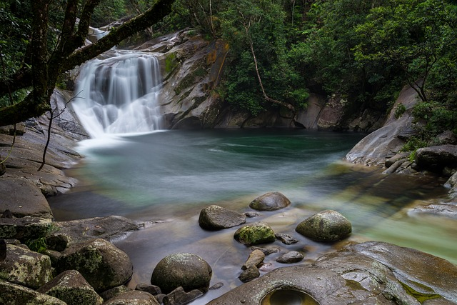 River, Australia, Nature, Water, Long Exposure