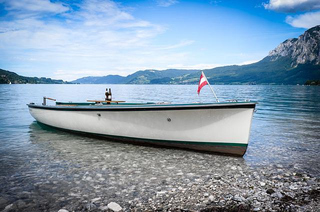 Waters, Sea, Boot, Travel, Sky, Attersee, Austria