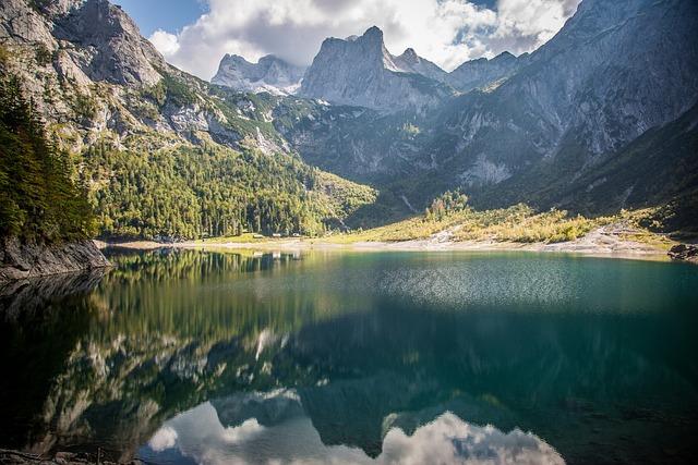 Gosau, Gosausee, Dachstein, Austria, Lake, Bergsee